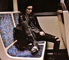 Gothic Aesthetic, Aesthetic Grunge, Alternative Outfits, Alternative Fashion, Punk Mode, Goth Kids, Lisbeth Salander, Millenium, Look Man