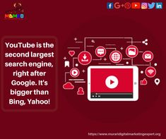 Second Largest World Wide Search Engine YouTube.  MAKE YOUR  BUSINESS BETTER. CALL NOW- 7322829606,8318861531,7065016841.  #youtube #digitalmarketing #contentmarketing #youtuber #youtubers #youtubevideos #youtubewtf #youtuberewind #youtubekids #youtubechannel #youtubeuse #youtubebr #socialmediamarketing #seo Content Marketing, Social Media Marketing, Digital Marketing, Take Two Interactive, Youtube Rewind, Software Support, Data Analytics, Software Development, Search Engine