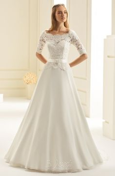 Aspen Wedding Dress from Bianco Evento Dream Wedding Dresses, Bridal Dresses, Wedding Gowns, Dresses Dresses, Long Dresses, Bridal Gown, Wedding Bride, Beautiful Gowns, Beautiful Bride