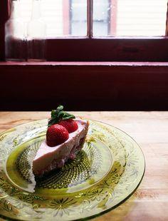 A Slice of Strawberry Chiffon Pie - Recipe on Westervin