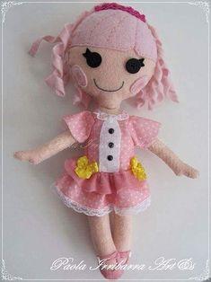 Шьем куколку из фетра. Выкройка (4)