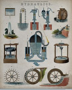 spacetravelco: Scientific engravings from 1850 by John Philipps...