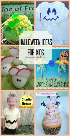 Halloween Ideas for Kids- Costumes, Crafts & more! #halloween