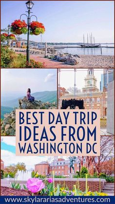 Guide to the best day trip ideas from Washington DC - Skylar Aria's Adventures Best Weekend Trips, Weekend Getaways, Day Trips, Washington Dc Attractions, Washington Dc Travel, Visit Washington Dc, Usa Travel Guide, Travel Usa, Canada Travel