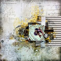 Thankful by Riikka Kovasin for Mixed Media Place