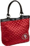 San Francisco 49ers Quilted Tote, Dark Red