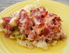 Reuben Cabbage Bake. If you love reuben sandwiches, you will love this. Very easy to prepare.