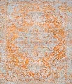 Kashmir Blazed Fast Orange range 4840 by THIBAULT VAN RENNE | Rugs / Designer rugs