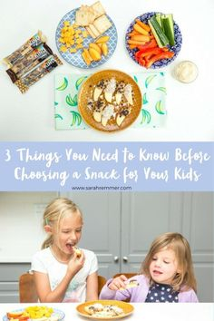 3 Things You Need to Know Before Choosing a Snack for Your Kids - Top Trends Healthy School Snacks, Healthy Family Meals, Nutritious Meals, Healthy Kids, Kids Meals, Healthy Living, Kids Nutrition, Nutrition Tips, Spinach Nutrition