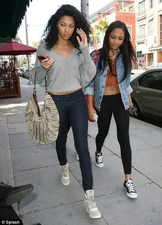 Eddie Murphy's daughters Bria and Shayne