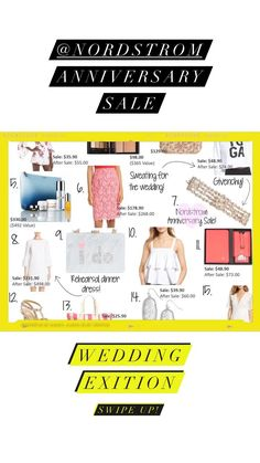 Nordstrom anniversary sale wedding sale
