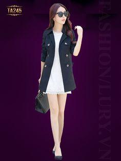 Kiểu áo mang phong cách thời trang Hàn Quốc vô cùng sành điệu
