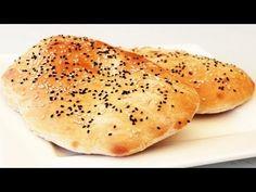 Bread is the main item in a Turkish meal. The basic wheat dough is baked into fresh loaves usually in the neighbourhood bakery. There are varieties of breads like the elmek, pide or manti, which is a dumpling with meat filling. Pide Bread, Bread Bun, Flat Bread, Turkish Recipes, Indian Food Recipes, Ethnic Recipes, Bread Recipes, Cooking Recipes, Kitchen Recipes