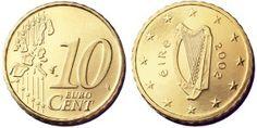 2002 Ireland 10c (Type I, both sides)