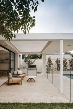 Indoor Outdoor Living, Outdoor Rooms, Outdoor Patios, Outdoor Kitchens, Outdoor Areas, Outdoor Decor, Design Exterior, Interior And Exterior, Future House