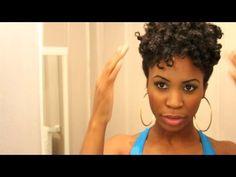 6 Beautiful Natural Hairstyle Tutorials for 4C Natural Hair