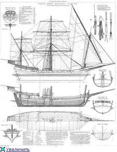 Чертежи парусных кораблей (16/20) [Форумы Balancer.Ru]