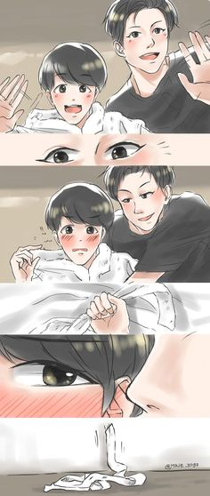 Chanbaek Chanbaek Fanart, Baekhyun Fanart, Exo Chanbaek, Kpop Fanart, Exo Kokobop, Chanyeol, Exo Cartoon, Exo Couple, Exo Fan Art