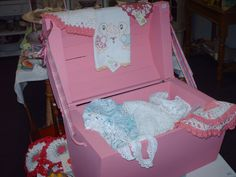 Greenville Cottage Antiques & Collectibles ~ treasure chest full of vintage hand made items