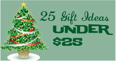 25 Holiday Gift Ideas Under $25