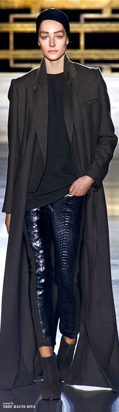 #Paris Fashion Week Haider Ackermann Fall 2014 RTW