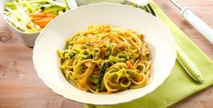 Spaghetti cremosi alle verdure -  https://www.piccolericette.net/piccolericette/recipe/spaghetti-cremosi-alle-verdure/