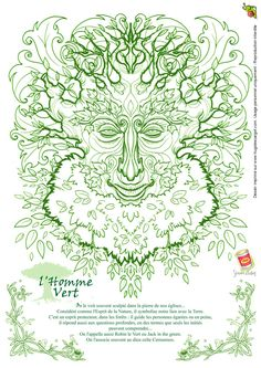 ✿ Tattoos ✿ Celtic ✿ Norse ✿ homme vert