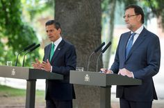 Rajoy y Peña Nieto afianzan la relación estratégica entre España y México - http://plazafinanciera.com/rajoy-y-pena-nieto-afianzan-relacion-estrategica-entre-espana-y-mexico/   #Acuerdo, #EnriquePeñaNieto, #MarianoRajoy, #México #Política