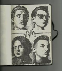 awesome drawing of the band