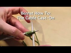 Learn how to start your knitting project and cast on. This video shows you how to make a slip knot and how to do the cable cast on, and is perfect for beginner knitters or anyone who could use a refresher.