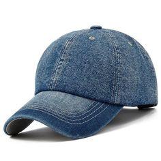 529f436e49a Baseball Cap Men Women Snapback Caps Brand Golf Hats For Women Visor Bone Jeans  Denim Blank