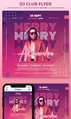 Social Media Art, Social Media Poster, Social Media Design, Social Media Graphics, Graphic Design Layouts, Graphic Design Posters, Advertisement Examples, Neon Design, Club Flyers
