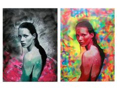 Kate Moss Collection by Dan Pearce available at www.danes-art.com