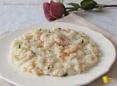 Risotto gamberi e champagne, ricetta. Preparare il risotto ai gamberi con champagne primo di pesce facile e raffinato per Natale, capodanno o cena romantica