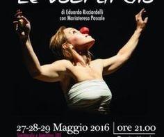 Le voci di Giò al #TeatroKopò   la storia travagliata di #GiovannaDArco portata in #scena dall'attrice MariaTeresa Pascale.