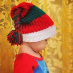 Gorro navideño para niño