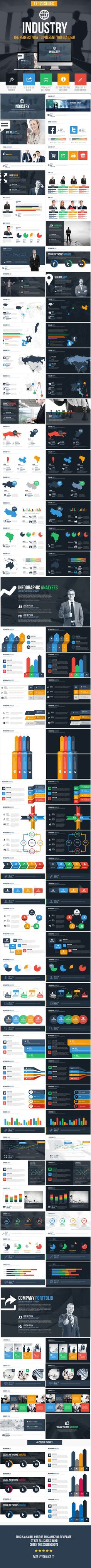Industry Powerpoint Presentation Tempalte #design Download: http://graphicriver.net/item/industry-powerpoint-presentation-template/11805583?ref=ksioks