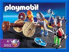 PLAYMOBIL� set #3153 - Vikings Warriors