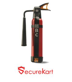Ceasefire C02 based squeeze grip fire extinguishers 2 kg weigh a staggering 18.5 kgs, making it extremely difficult to carry and operate.C02 gas is also stored in very low temperatures, often causing freeze burn on the fire fighters hand in process of activation.If you want buy c02 squeeze grip type fire extinguisher please visit securekart online shopping website.