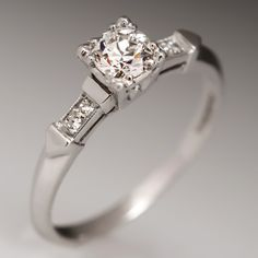 1930's Engagement Ring