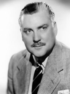 Nigel Bruce (William Nigel Ernle Bruce - February 4, 1895 - October 8, 1953; 58 years old - died of Heart Attack)