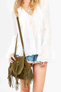 Ecote Sahara Suede Convertible Mini Backpack