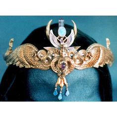 Egyptian Crowns ❤ liked on Polyvore featuring home, home decor, crown and egyptian home decor