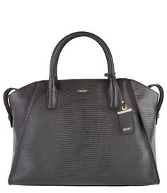 De Sutton Shiny Large Satchel van DKNY is een trendy damestas. (€264,95)