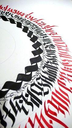 by Aerosyn-Lex Mestrovic Calligraphy Handwriting, Beautiful Calligraphy, Islamic Art Calligraphy, Calligraphy Letters, Typography Letters, Typography Poster, Chicano Lettering, Graffiti Lettering, Graffiti Art