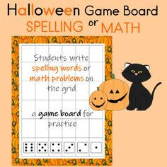 Students randomly write spelling words or math problems on the grid and generate a game board for independent practice or with a partner Can be used whole class, for homework, or during small groups. My kids are totally engaged when they make their own worksheets Your kids will be totally engaged too