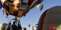 Atrévete a disfrutar de #Aguascalientes con una hermosa vista desde un globo aerostático. Fiesta en el Aire (12-15 septiembre)