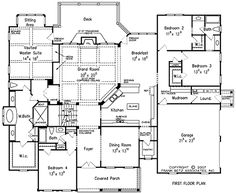 Henry approved and i love it!! Tavistock - Home Plans and House Plans by Frank Betz Associates