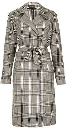 @topshop #Check #Trench #Coat