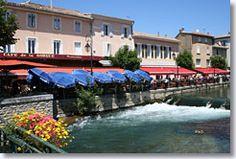 Il sur la Sorgue, France, many lunch times spent here